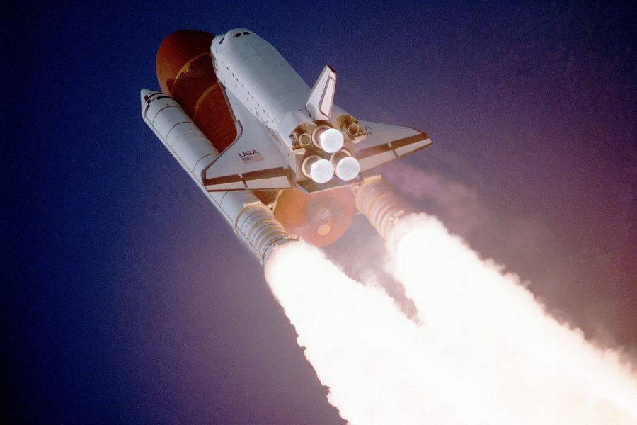 Shuttle to space